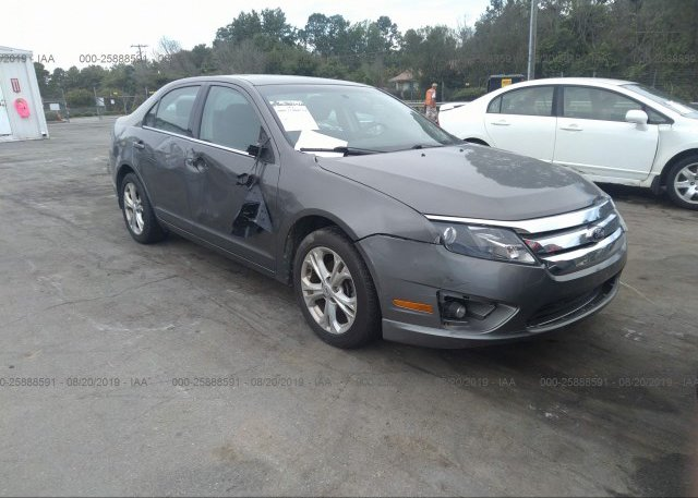 Inventory #626453472 2012 FORD FUSION