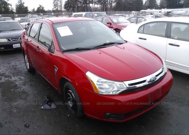 Inventory #439189415 2008 FORD FOCUS