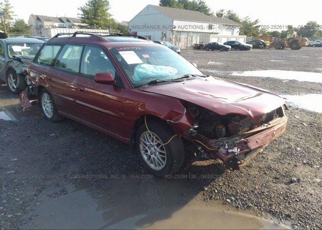 Inventory #694081206 2004 Subaru LEGACY