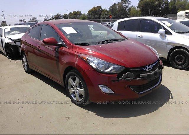 Inventory #827715228 2013 Hyundai ELANTRA