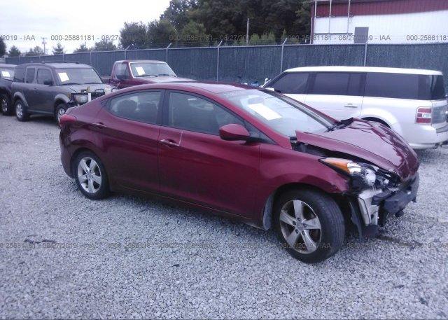Inventory #871049133 2013 Hyundai ELANTRA