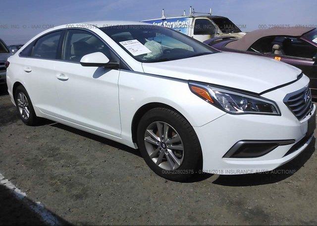 Inventory #610407688 2017 Hyundai SONATA