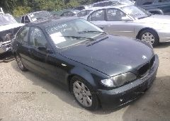 2002 BMW 325 - WBAET37402NJ22156 Left View
