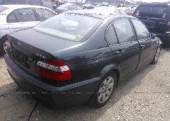 2002 BMW 325 - WBAET37402NJ22156 rear view