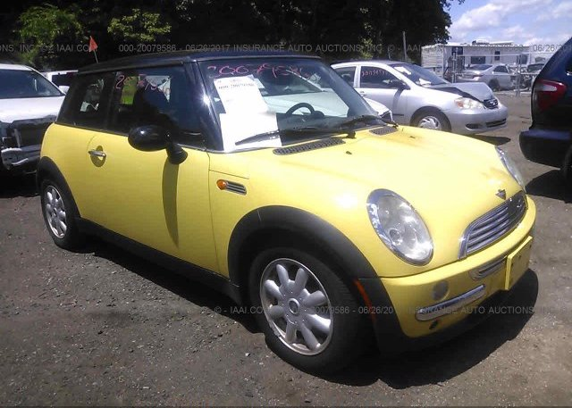 Wmwrc33463te14353 Clear Yellow Mini Cooper At East Taunton Ma On