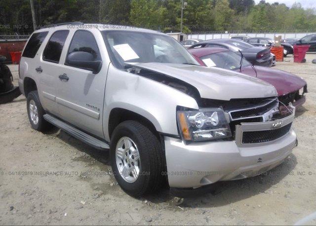 Inventory #789956525 2007 Chevrolet TAHOE