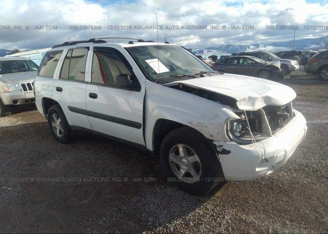 Inventory #603521639 2005 Chevrolet TRAILBLAZER
