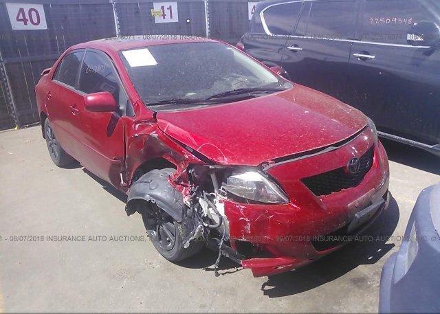 Inventory #171451237 2009 Toyota COROLLA