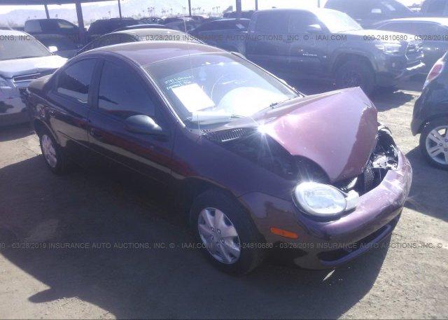 Inventory #356737688 2001 Dodge NEON
