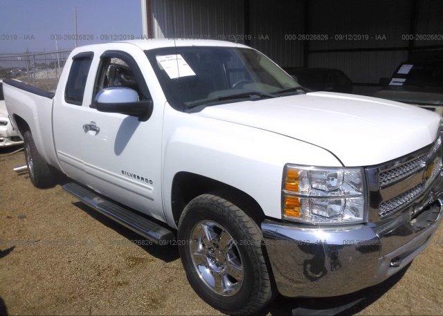 Inventory #811195746 2012 Chevrolet SILVERADO
