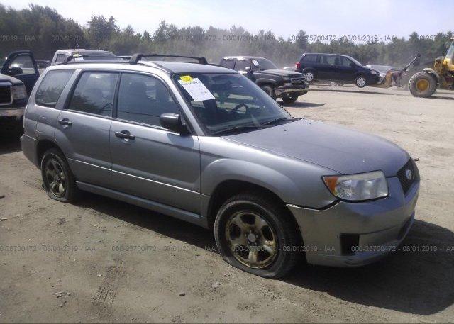 Inventory #717433001 2007 Subaru FORESTER