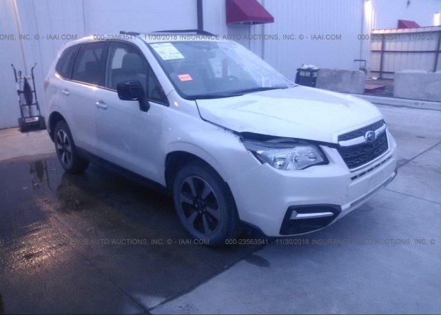Inventory #447423304 2018 Subaru FORESTER