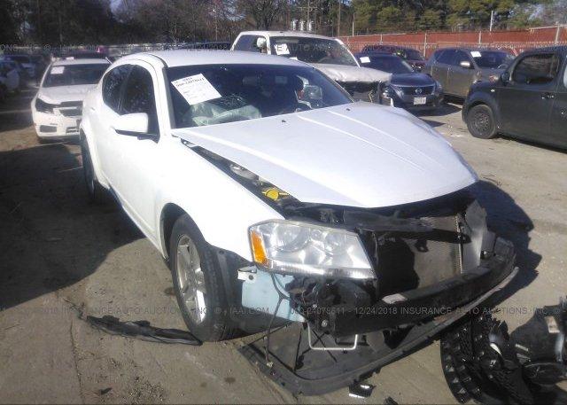 Inventory #268725657 2013 Dodge AVENGER