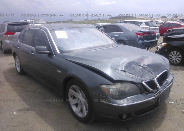 Inventory #831407508 2006 BMW 750