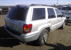 2004 JEEP GRAND CHEROKEE - 1J4GW58S84C102676 rear view