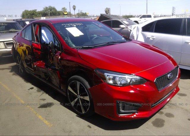 Inventory #130590348 2018 Subaru IMPREZA