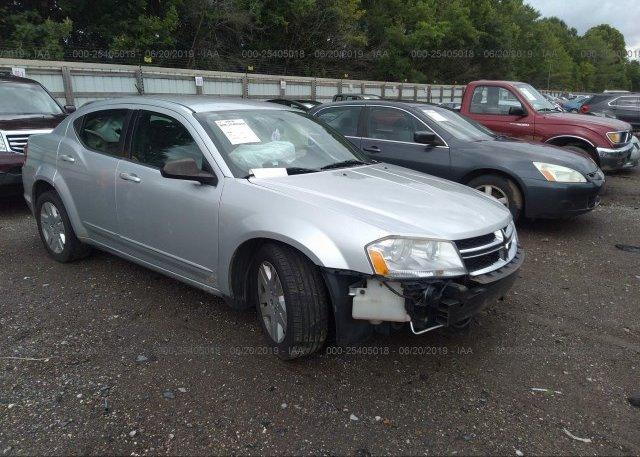 Inventory #861260838 2012 Dodge AVENGER
