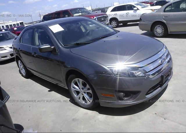 Inventory #112020454 2012 FORD FUSION