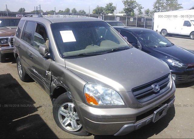 Inventory #351813053 2004 Honda PILOT