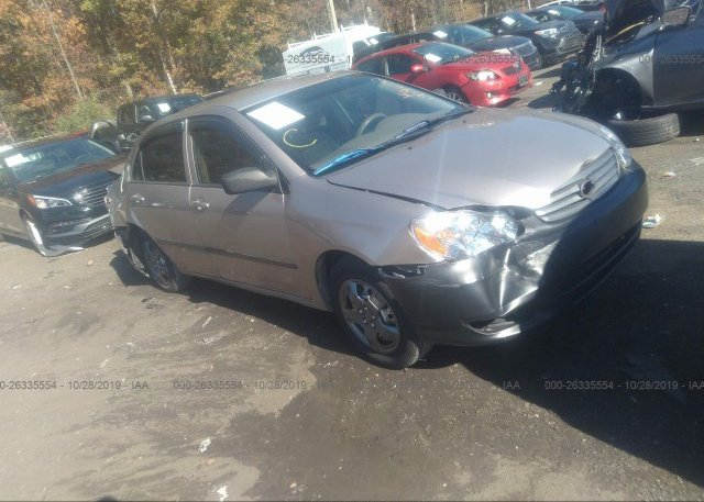 Inventory #524963028 2003 Toyota COROLLA