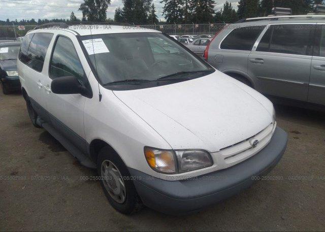 Inventory #321482544 1999 Toyota SIENNA