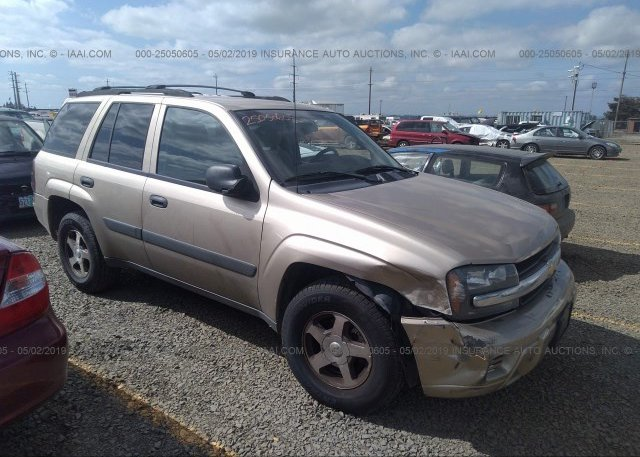 Inventory #653650662 2005 Chevrolet TRAILBLAZER