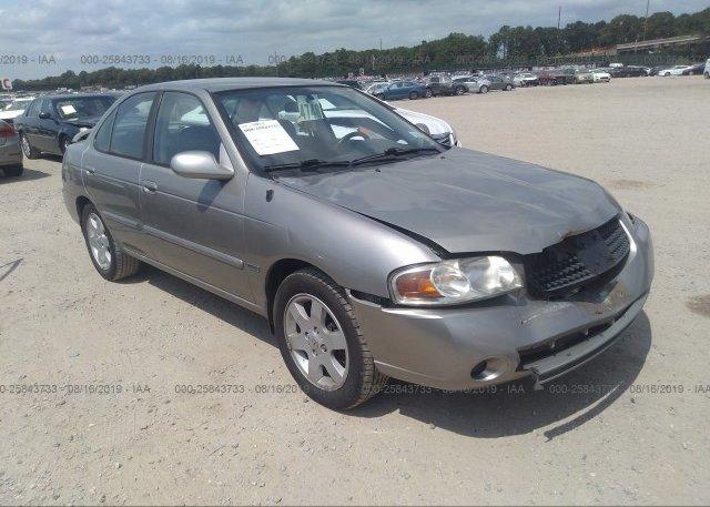 Inventory #932630133 2006 Nissan SENTRA