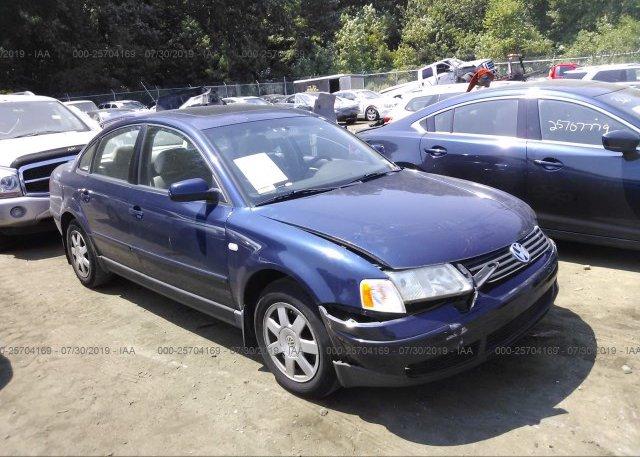 Inventory #364817072 2001 Volkswagen PASSAT