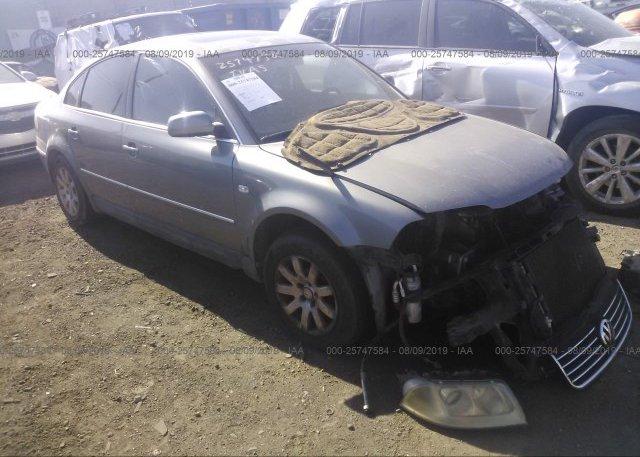 Inventory #820441079 2002 Volkswagen PASSAT