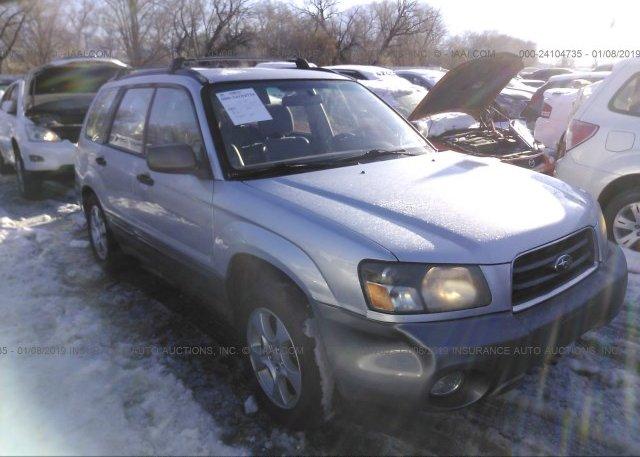 Inventory #763476472 2003 Subaru FORESTER
