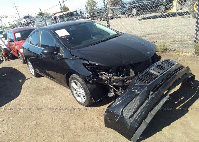 Inventory #816669216 2017 Chevrolet CRUZE