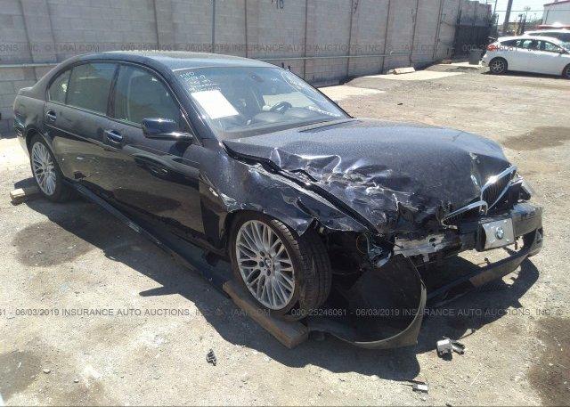 Inventory #710492391 2007 BMW 750