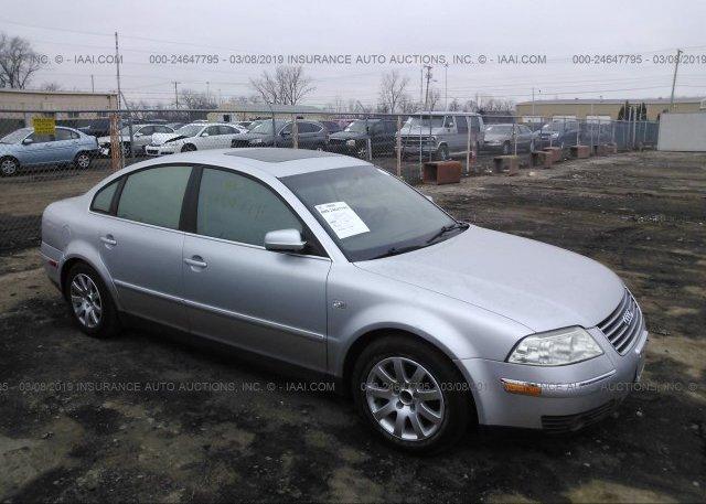 Inventory #591744621 2002 Volkswagen PASSAT