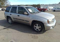 2004 Chevrolet TRAILBLAZER - 1GNDS13S042322783 Left View