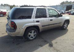 2004 Chevrolet TRAILBLAZER - 1GNDS13S042322783 rear view