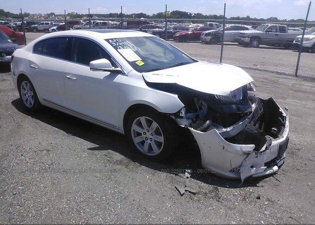 Inventory #606721210 2012 Buick LACROSSE