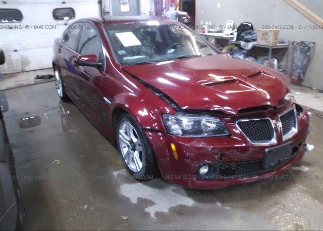 Inventory #935682973 2009 Pontiac G8