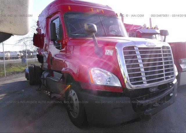 3AKJGLD56ESFL0096, Salvage Freightliner Cascadia 125 at