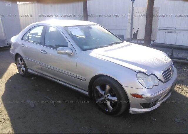Inventory #460142031 2006 Mercedes-benz C GENERATION 2006