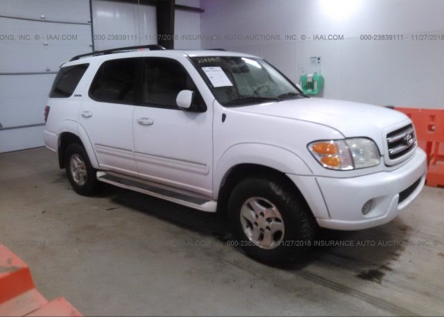 Inventory #203655925 2002 TOYOTA SEQUOIA