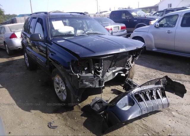 Inventory #276142865 2002 JEEP GRAND CHEROKEE