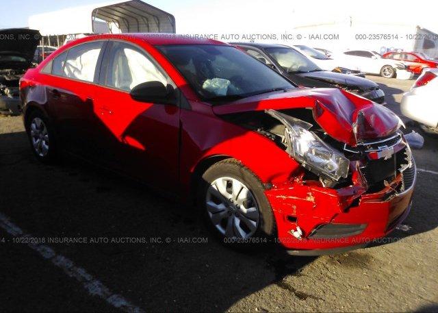Inventory #831619323 2014 Chevrolet CRUZE