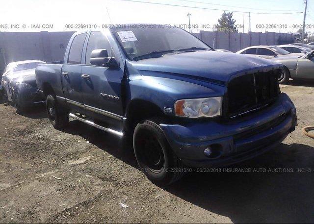 Inventory #775413430 2005 Dodge RAM 2500