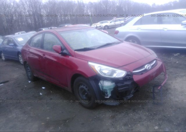 Inventory #850087332 2015 HYUNDAI ACCENT