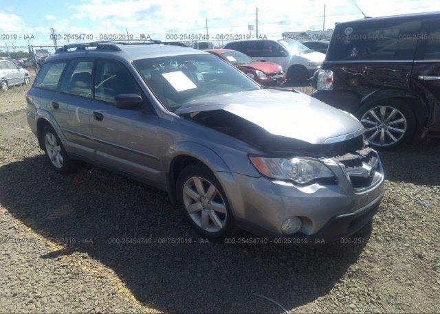 Inventory #393780527 2008 Subaru Outback