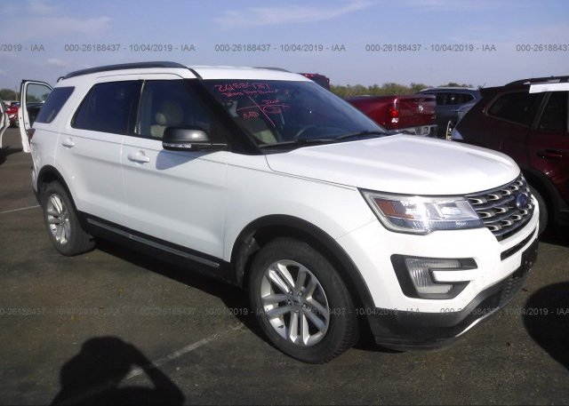 Inventory #880477113 2017 FORD EXPLORER