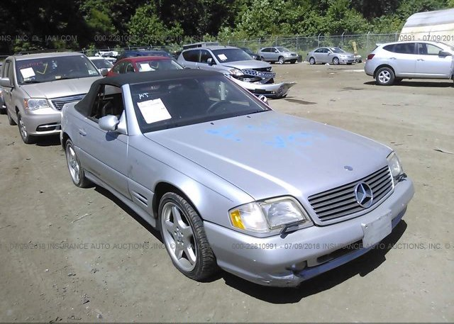 Inventory #307570247 2001 Mercedes-benz SL