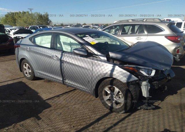 Inventory #735677831 2014 Hyundai ELANTRA