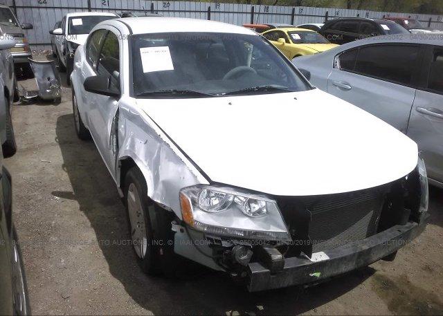 Inventory #712568892 2013 Dodge AVENGER