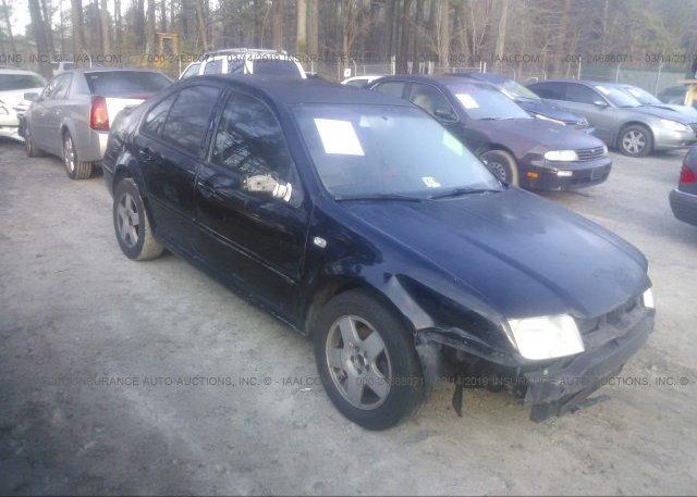 Inventory #241561644 2001 Volkswagen JETTA